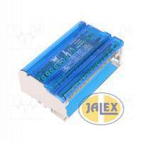 Blok rozdzielczy, listwa zaciskowa 4x15,125A/500V E.4088