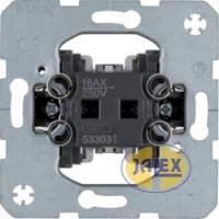 BERKER Łącznik 1-klawiszowy mechanizm 533031